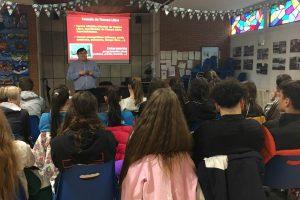 El Servicio de Juventud visita el instituto Padre Isla