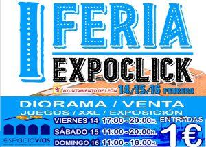 I Feria EXPOCLICK en Espacio Vías el 14, 15 y 16 de febrero. @ Espacio Vías