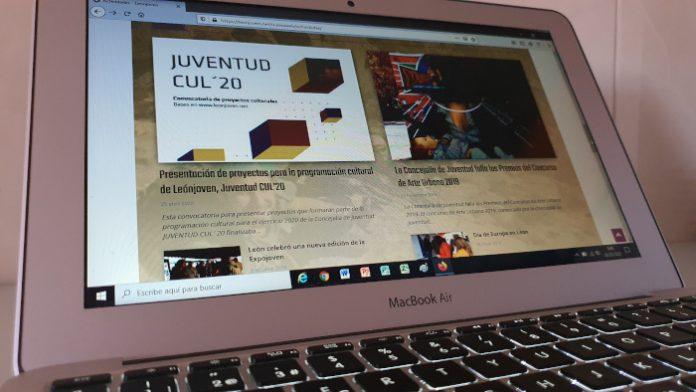 nuevo diseño web leonjoven