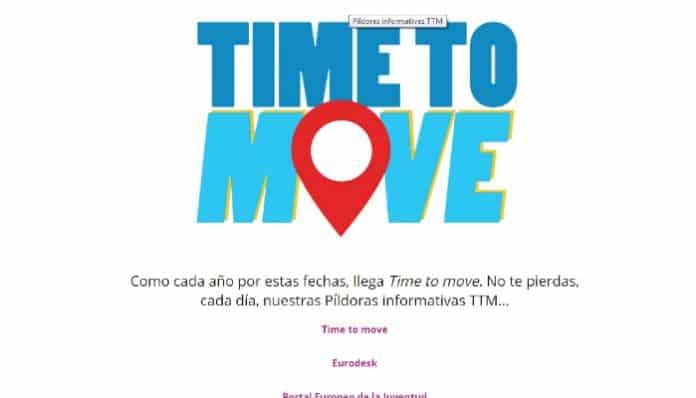 León se sumó a Time to move