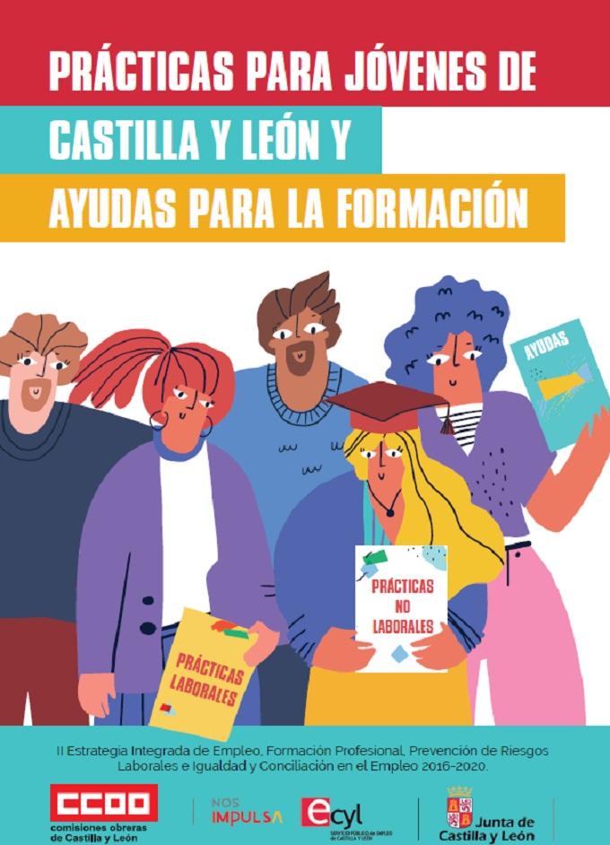 Prácticas para jóvenes de Castilla y León y Ayudas para la Formación